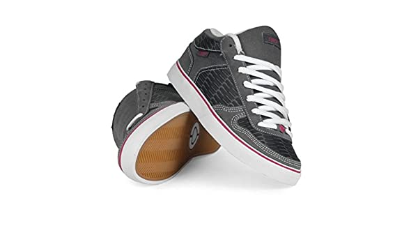 f73361401f41 Circa Skateboard Schuhe 8 Track Black Gray  Hot Pink - Circa Shoes   Amazon.de  Schuhe   Handtaschen