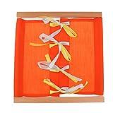 MagiDeal Montessori Materiales Juguete Niños Juegos de Educación Diario - #3