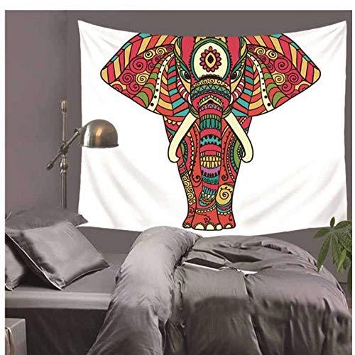Weijunt Tapices Bohemia Mandala Grande Hippie Tapiz Elefante casa Fina Manta poliéster Art Pared Playa Decorativos Indio