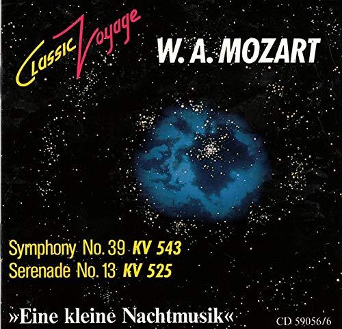 W. A. MOZART - SYMPHONY NO 39 & SERENADE NO 13 EINE KLEINE NACHTMUSIK