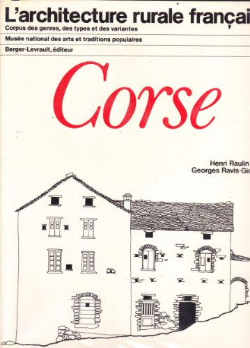 Corse (L'architecture rurale française)