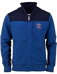 Sweat capuche zippé PSG - Collection officielle Paris Saint Germain - Taille enfant garçon