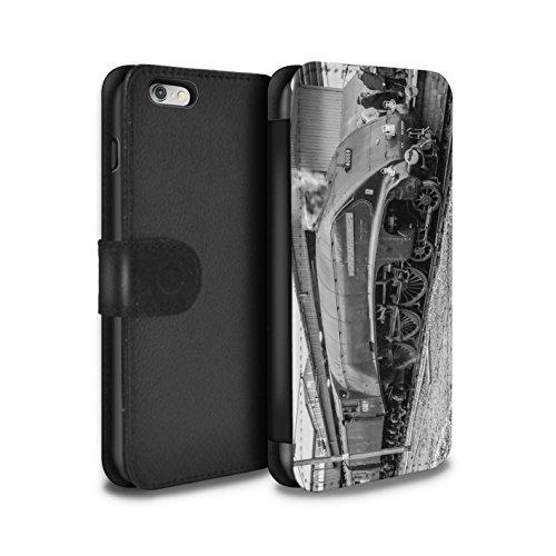 Stuff4 Coque/Etui/Housse Cuir PU Case/Cover pour Apple iPhone 6S+/Plus / Pack 20pcs Design / Locomotive Vapeur Collection Union South Africa