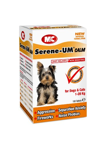 Artikelbild: Gelassene Ruhe UM 100 Tabletten für Hunde und Katzen, einen Artikel