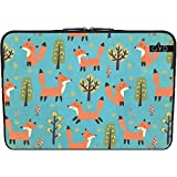Neopren huelle Laptop 15.6 inch - Fuchs Tier Wildtier Niedlich by UtArt