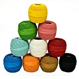Best Threads - Embroiderymaterial Crochet Cotton Thread Yarn for Knitting Review