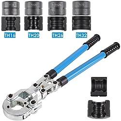 FIXKIT Pince à Sertir TH PER & MulticouchePince à Sertir pour Tube Contour avec Mors PER & Multicouche16mm-20mm-25mm-32mm pour Tube PEX, Tube Composite (TH)