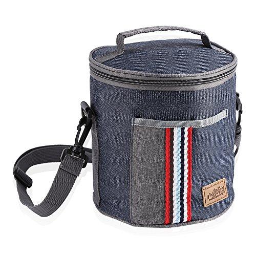 Lunchpaket, tragbare isolierte Thermo-Kühler-Lunchpaket-Aufbewahrungsbox-Beutel-Kasten mit Tote-Picknick(# 1) -