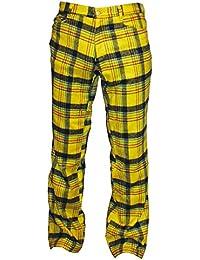 Tartan Pure Classic Style Hose Gelb