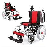 T-Rollstühle Elektrischer Rollstuhl, Behindert, Alter Roller, Leichte Falte