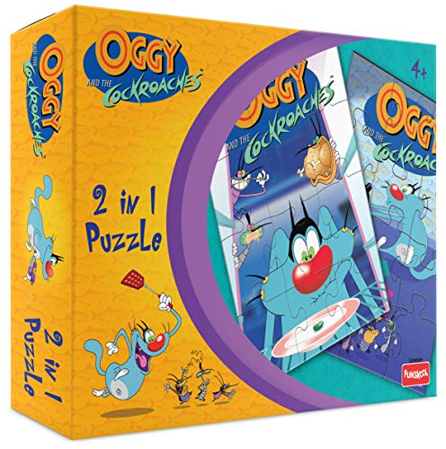 Funskool Oggy 2 in 1 Puzzle