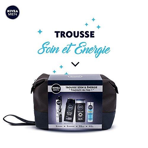 """NIVEA MEN Trousse Soin/Energie """"Toujours au Top !"""" avec..."""