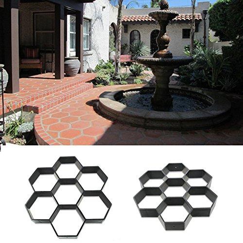 GEZICHTA Molde de jardín para pavimento de jardín de la marca molde...