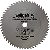 Wolfcraft 6604000 6604000-1 Hoja de Sierra Circular CV, 56 dient, Serie roja diam. 315 x 30 x 1,8 mm, 315x30x1.8mm