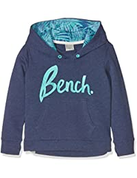 Bench New Logo Hoody, Sweat-Shirt à Capuche Fille