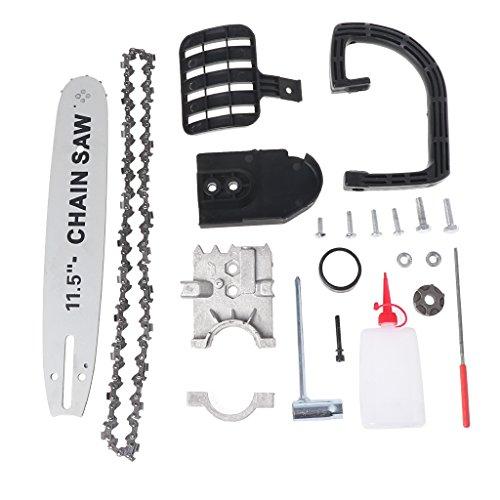 Yunso - Soporte para motosierra de 11,5 pulgadas, para cambiar el ángulo de la sierra de la cadena y la herramienta de carpintería, para amoladora angular