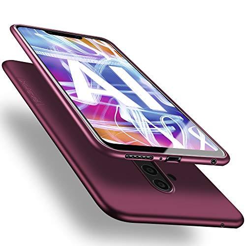 X-level Huawei Mate 20 Lite Hülle, [Guardian Serie] Soft Flex Silikon Premium TPU Echtes Telefongefühl Handyhülle Schutzhülle für Huawei Mate 20 Lite Case Cover - Weinrot