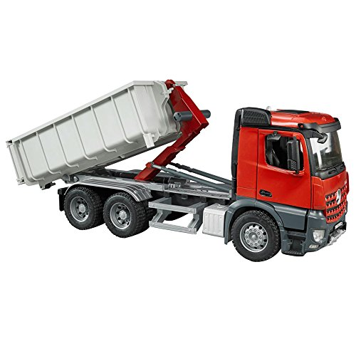 Image of Bruder MB Arocs Truck with Roll-Off-Container