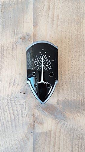 STL Herr der Ringe 'Shield' Ocarina–TENOR C–6Löcher–Keramik