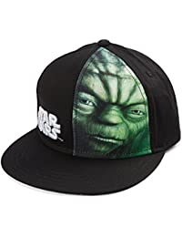 Star Wars Yoda Face Youth Snapback Casquette De Baseball