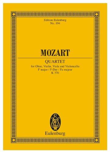 Oboe Quartet in F Major KV 370