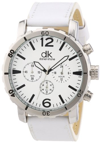 dk daniel khone Herren-Armbanduhr XL Young Man Chronograph Quarz Leder DKGA-90560-12L