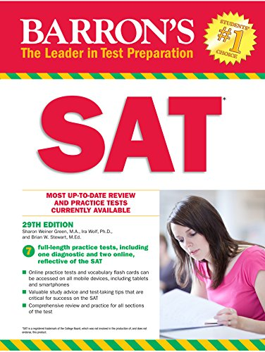 Barron's SAT (English Edition) - Act-test Barron