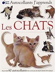 Chats (Autocollants J'Apprends)