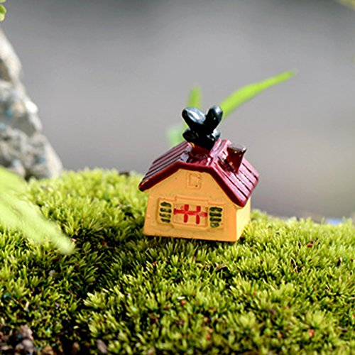 5pz Piccolo Paesaggio Camera Asino Arredamento Casa Giardino Micro Mestiere Paesaggio