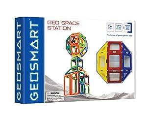 GeoSmart GeoSpace Station 70 pcs - Bloques de construcción de Juguete (Multicolor, 70 Pieza(s), Rectangular, Plaza, Trapezoidal, Triángulo, Monótono, Child, Niño/niña)