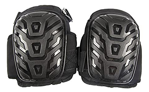 Knee Pads-Duty Gel Knee Pads with Heavy Duty Foam Padding-Comfort Shell and Comfortable Gel Cushion- Strong Double Straps and Adjustable Easy-Fix Clips by
