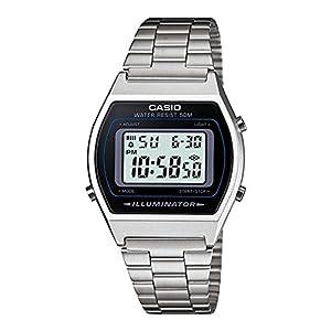 Casio Reloj Digital para Unisex Adultos de japonés con Correa en Acero