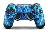 GameXcel ® Sony PS4 Controller della Pelle - Playstation 4 Joystick Decalcomania - Custom Playstation 4 Remoto del Vinile - Blue Deamon [Controller non incluso]