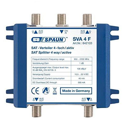 Spaun SVA 4 F Sat-IF-Amplifier/Inline-Amplifier