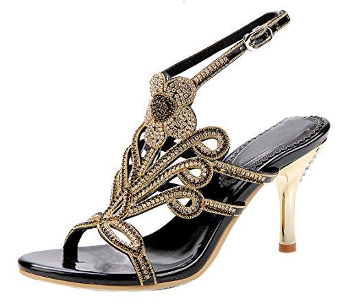 honeystore-damens-pfau-blumen-geformt-pattern-stckel-absatz-handgemacht-strass-sandalen-schwarz-40-e