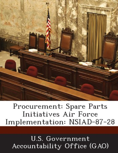 Procurement: Spare Parts Initiatives Air Force Implementation: NSIAD-87-28