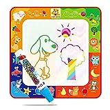 Funpa Bambini Scarabocchio Stuoia Aqua Mat Giocattolo Educativo Per Bambini Tappetino Per Acquerelli Magic Water Colorato con 1 Penna