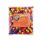 """Vancool Professional Plastica multicolore Slingshots Ammo 3/8""""(10mm), palline multicolore 500 per confezione"""
