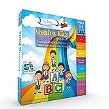 #9: Genius Kids Worksheets (Bundle) for LKG (KG-I) and Montessori (3-5 yrs)- Set of 8 Workbooks (Math & Logic, English, Science, Games & Activities)