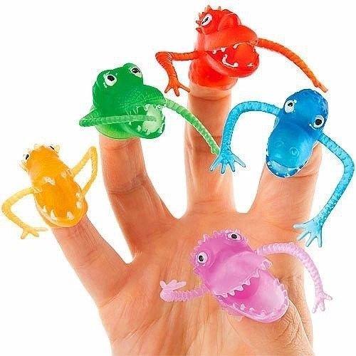 German Trendseller 8 x Fingerpuppen Monster ┃ Gummi Monster ┃ für Kinder ┃ Monster Party ┃ Ideal Zum Kindergeburtstag ┃ Kinder Lieben Diese Gruselige ()