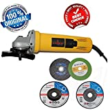 #8: VELEX Heavy Duty 850W 11000RPM 100mm Angle Grinder With Free Bosch Grinding And Cutting Wheel
