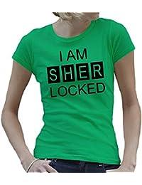 Touchlines Women's Girlie T-shirt I Am Sher Locked T-Shirt