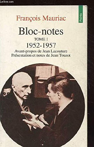 Bloc-notes, tome 1: 1952-1957