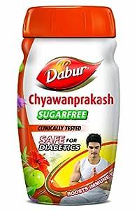 Dabur Chyawanprakash Sugarfree : Clincally Tested Safe for Diabetics  Boosts Immunity  helps Build Strength and Stamina - 900gm