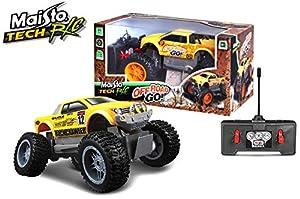 Maisto 581162 Junior Rock Crawler - Vehículo radiocontrol, Colores Surtidos
