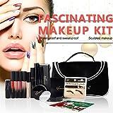 CHSEEA 16 Stück Schmink Geschenkset Mit Taschen Make-Up Set Kosmetik Makeup Paletten Schminkkoffer Enthält Schminke für Gesicht, Augen und Lippen -Geburtstags-und Weihnachtsgeschenk für Freund #5