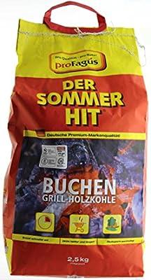 proFagus - Buchen Grill-Holzkohle - 2,5kg