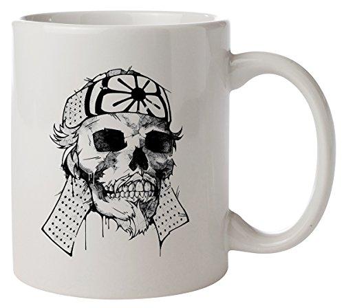 Kamikaze Japanese Skull Kaffeetasse