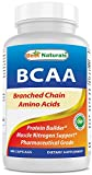 Best Naturals BCAA Branch Chain Amino Acid, 3200mg per serving, 400 Capsules