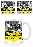 New York Taxi Cab Taza de